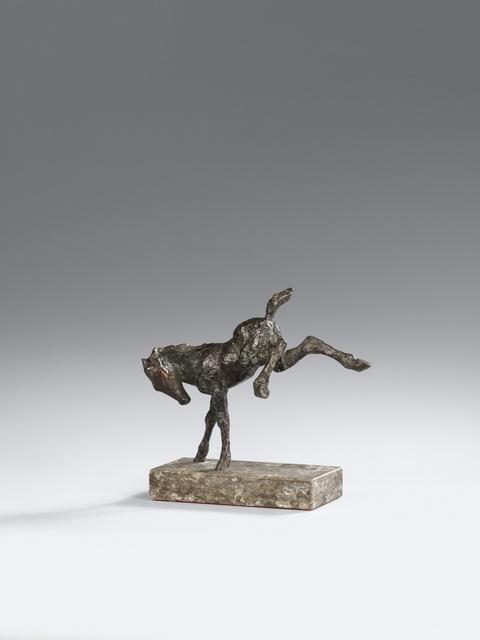 Renée Sintenis - Ausschlagendes Pferdchen
