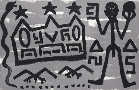 A.R. Penck - Welt des Adlers