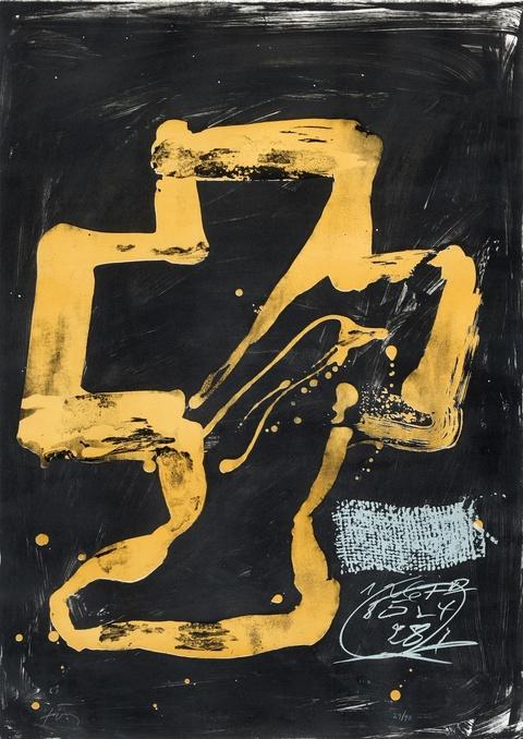 Antoni Tàpies - Variations