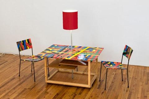 Franz West - Creativity: Furniture Reversal