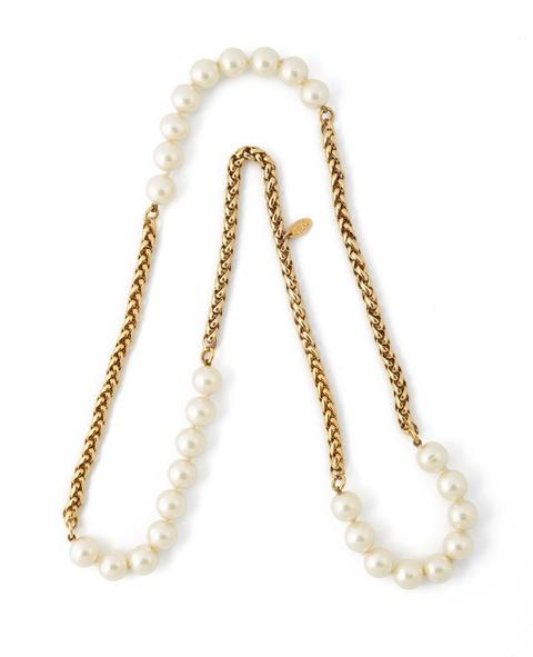 Perlensautoir von Chanel, 1983 -