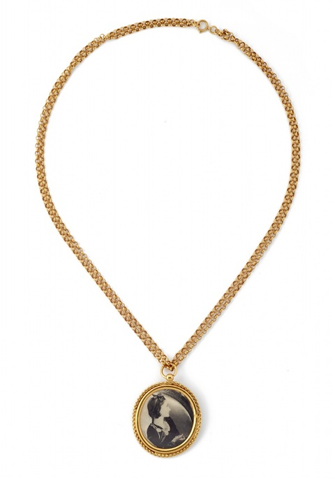 Collier mit Medaillon de Coco von Chanel, 1985 -
