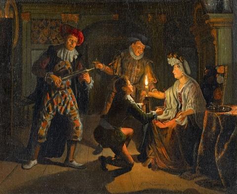 Matthijs Naiveu - Der Besuch des Liebesdoktors