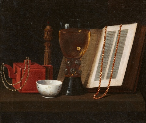 Pieter Gerritsz. van Roestraeten, Nachfolge - Stillleben mit Römer