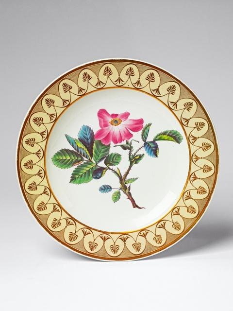 Teller aus dem botanischen Service für Kaiserin Joséphine -