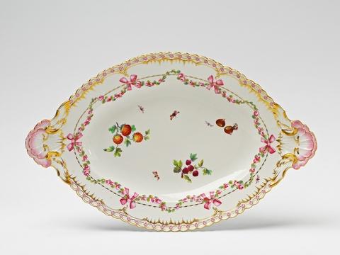 Platte aus einem Speiseservice für Friedrich II. -
