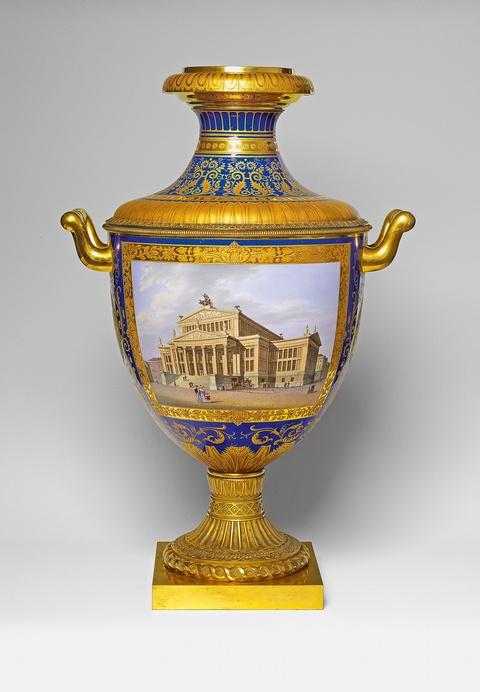Vase Münchner Sorte No. 3 mit zwei Henkeln -