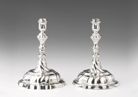 Paar Augsburger Leuchter -