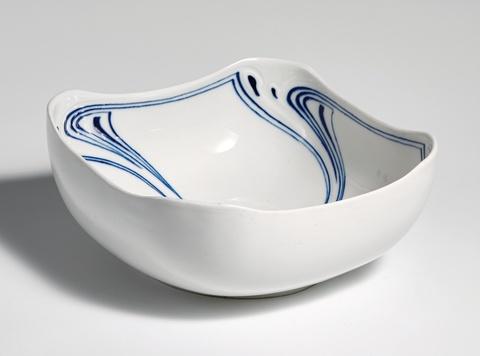 A Meissen porcelain salad bowl by Henry van de Velde -