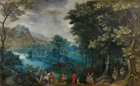 David Vinckboons - Die Taufe des Mohrenkämmerers
