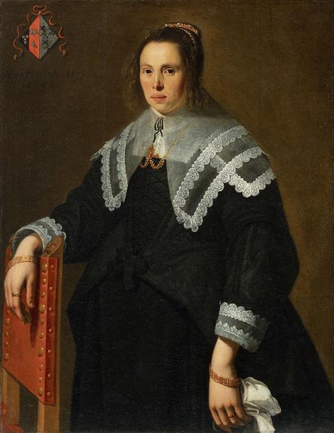 Netherlandish School, 17th century - Portrait of a Lady
