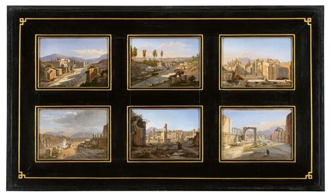 Frans Vervloet - Zwölf Ansichten von Pompeji