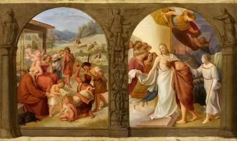 Wilhelm von Schadow - Die Parabeln vom verlorenen Schaf und verlorenen Sohn