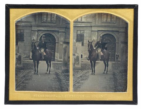 Wilhelm Schneider - Mann zu Pferde