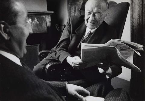 Will McBride - Konrad Adenauer in Cadenabbia (für 'Quick')