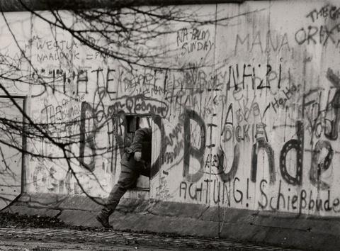 Barbara Klemm - DDR-Grenzsoldaten, West-Berlin