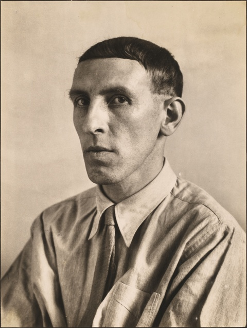 August Sander - Der Maler Heinrich Hoerle
