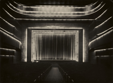 August Sander - Cinema Capitol, Cologne