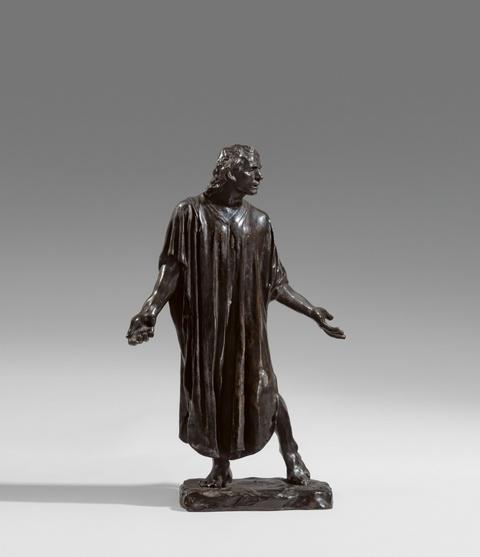 Auguste Rodin - L'un des Bourgeois de Calais: Jean de Fiennes, vêtu, reduction