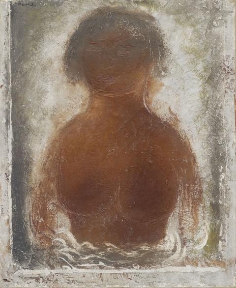 Jean Léon Fautrier - Buste de Femme