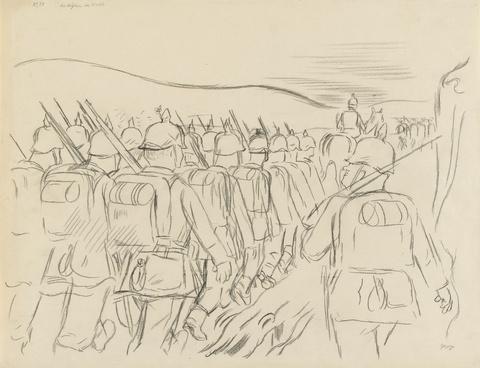 George Grosz - Der Weg allen Fleisches (Die Vöglein im Wald)