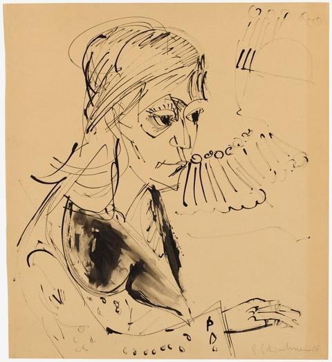 Ernst Ludwig Kirchner - Frauenbildnis (Erna Schilling)