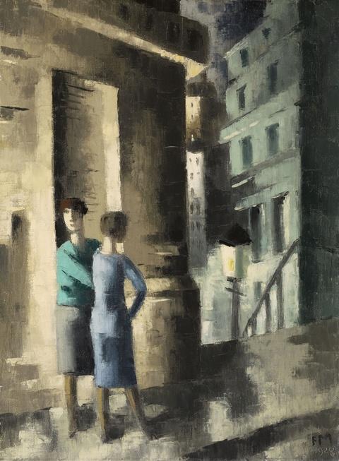Frans Masereel - Le Réverbère