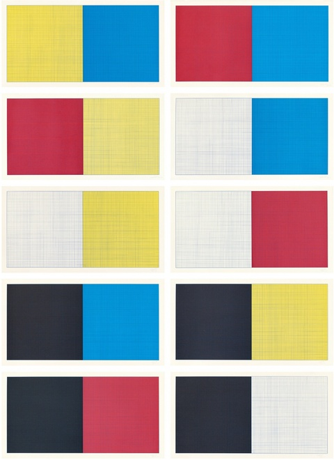 Sol LeWitt - Grids and Color