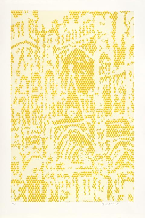 Roy Lichtenstein - Cathedral 1