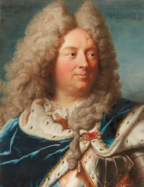 Hyacinthe Rigaud, copy after - Portrait of Louis Antoine de Pardaillan de Gondrin, duc d'Antin
