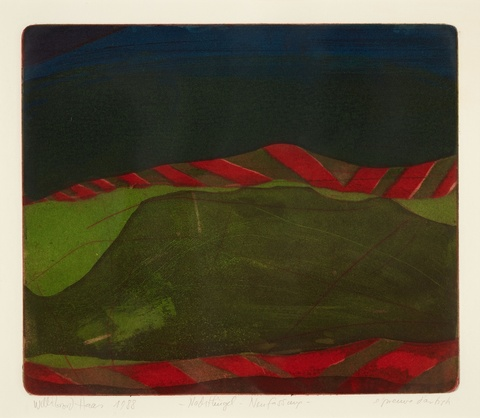 Willibrord Haas - Nachthügel - Neufassung