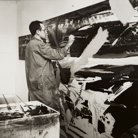 Erika Kiffl - Gerhard Richter, Atelier Düsseldorf