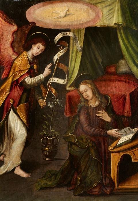 Netherlandish School early 16th century - The Annunciation
