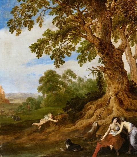 Cornelis van Poelenburgh, zugeschrieben - Diana und Kallisto