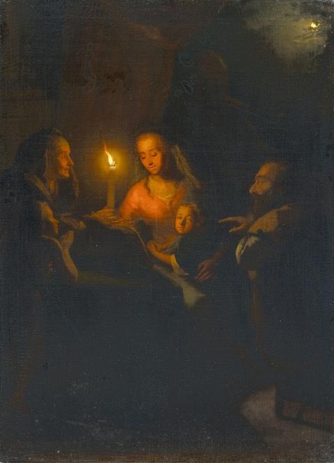 Godefridus Schalcken - Heilige Familie