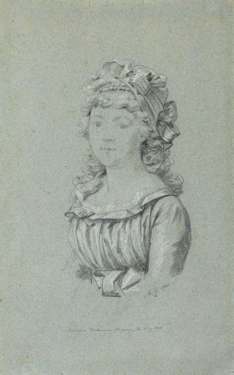 Anton Graff - Desmoiselle Stockmann, Bürgerin zu Hamburg