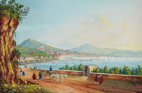 Giuseppe Scoppa - A View of Salerno