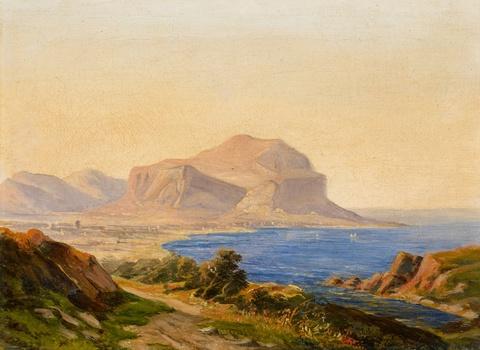 Carl Morgenstern - Monte Pellegrino near Palermo