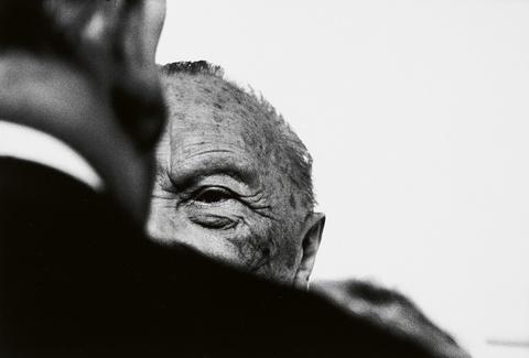 Robert Lebeck - Konrad Adenauer in Bonn