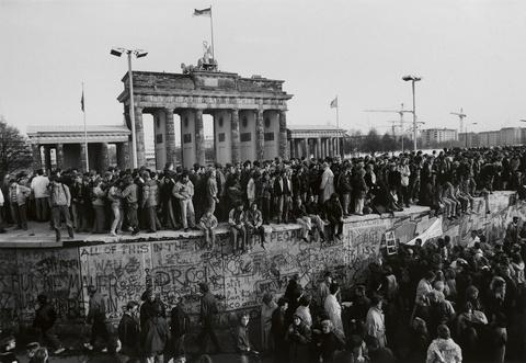 Barbara Klemm - Fall der Mauer, Berlin, 10. November 1989