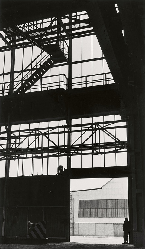 Herbert List - August-Thyssen smeltery, Ruhr