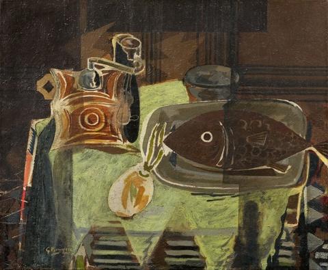Georges Braque - Le moulin à café