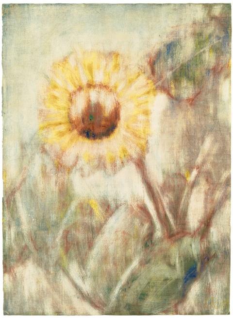 Christian Rohlfs - Sonnenblume