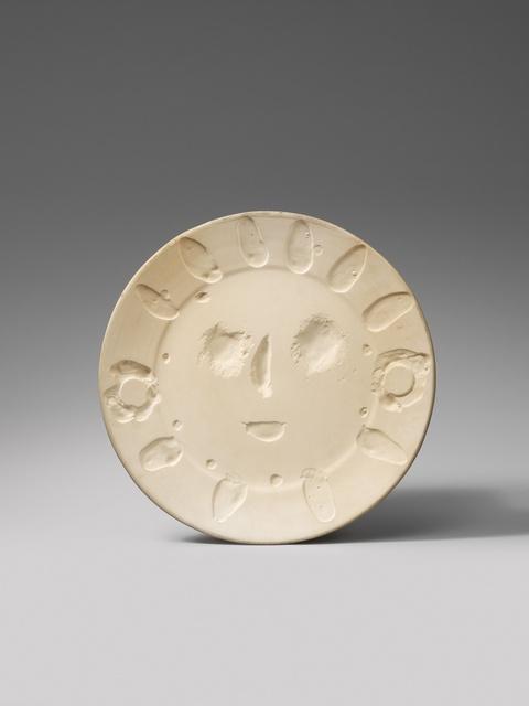 Pablo Picasso - Visage aux palmes/ Masque brillant