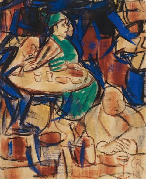 Christian Rohlfs - Im Café