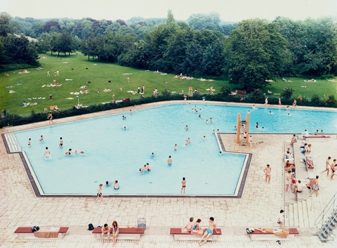 Andreas Gursky - Schwimmbad Ratingen