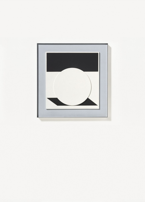 Victor Vasarely - Hommage a Malewitch