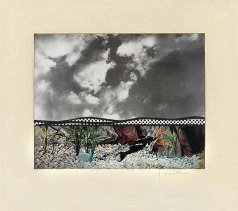 Roy Lichtenstein - Fish and Sky