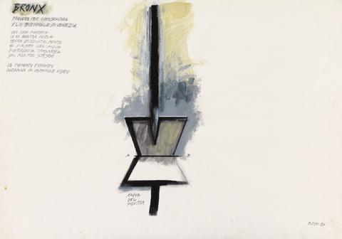 Fabrizio Plessi - Bronx (Progetto per Video scultura XLII Biennale di Venezia)