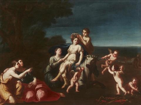 Pietro Francesco Cittadini - The Rape of Europa